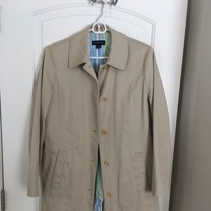Lands End trench coat